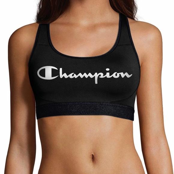 Champion Tops - Champion Absolute Logo Bra